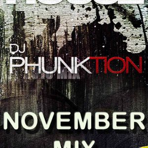 Dj Phunktion November Tech House Mix