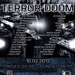 Nobody @ Terror Doom - Stoerbeatz Radio