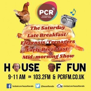 House Of Fun Broadcast LIVE 21/10/17 on PCR 103.2 FM
