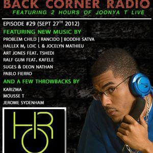 BACK CORNER RADIO: Episode #29 (Sept 27th 2012)