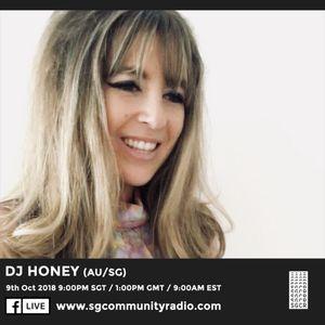 SGCR Radio Show #85 - 09.10.2018 Episode ft. Kiss Kiss Bang Bang with DJ Honey