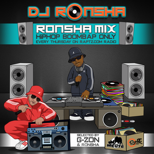 DJ RONSHA - Ronsha Mix #143 (New Hip-Hop Boom Bap Only)