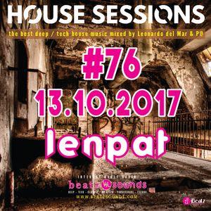 Beatz Sounds #76 - 13.10.2017 - 'House Sessions' by LenPat (NL)