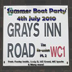 Grays Inn Twins Summer Boat Party Pt.2 - 4th July 2010