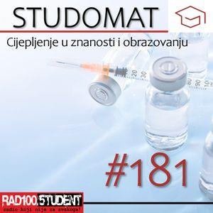 STUDOMAT #181 – Cijepljenje / Roko&Kužina / Sport i studiranje - 12.4.2021.