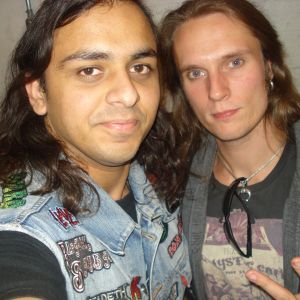 Interview with Mathias Nygard from Turisas