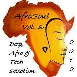 "Antonio Pedone Dj present live mix ""Afrosoul"" Selection vol .6 September 2012"