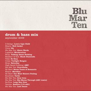 Blu Mar Ten - Drum & Bass Mix - Sep 2009