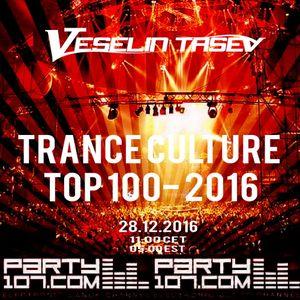 Veselin Tasev - Trance Culture 237 (Top 100-2016) (2016-12-28)