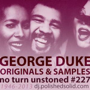 GEORGE DUKE: Originals and Samples Mix (No Turn Unstoned #227)