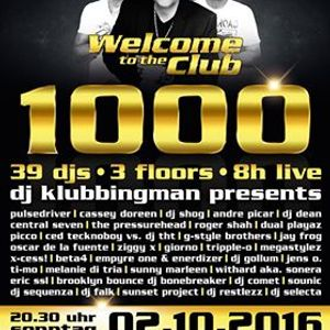 1 Sequenza live @ Welcome to the Club 1000 - 2.10.16 The Last Party