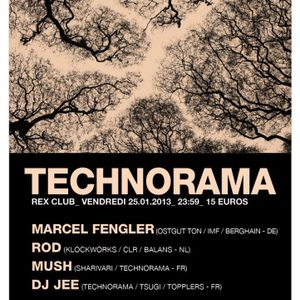 ROD @ Technorama - Rex - Paris - France - 25-01-2013