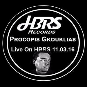 Procopis Gkouklias Live On HBRS 11.3.2016
