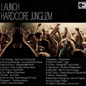 Launch – Hardcore Junglizm (jungle, breakcore, hardcore mix)