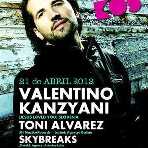 Toni Alvarez @ Sala Bukos (Palencia) 21-04-12