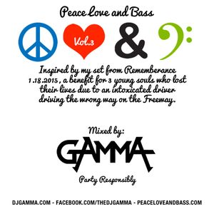 Peace, Love and Bass - Vol. 3