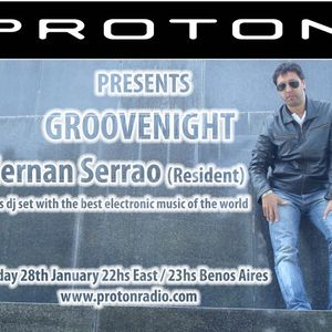 GROOVENIGHT EPISODE  01-2013 Part 1  By HERNAN SERRAO  (listen this at proton radio)