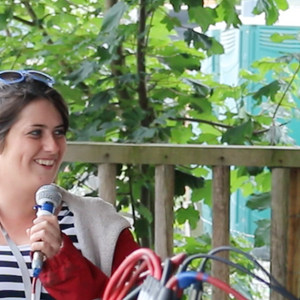 Interview with Bettine McMahon live @ Knockanstockan - 24/7/15