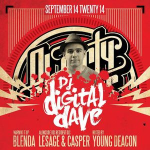 DJ Digital Dave Live From Ol' Dirty Sundays (ODS) Sep 14, 2014