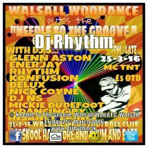 Dj Rhythm @ Needle To The Groove, Walsall Wood, Walsall. Friday 25th March 2016 www.djrhythm.tk