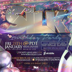 DJ Silk Birthday Mix 2019