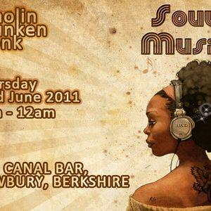Shaolin Drunken Monk - Live at The Canal Bar - Thursday 13th Oct 2011