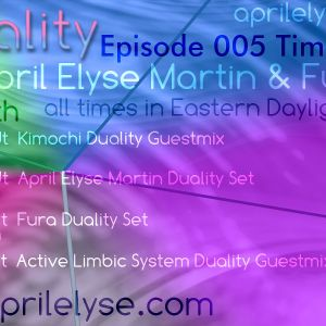 Active Limbic System Guestmix on Aprils Elyse Martin show called Duality 6-5-12