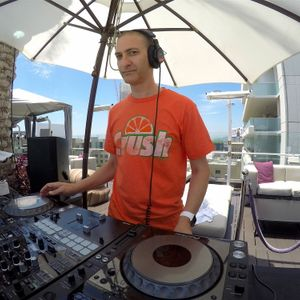DJ Crash live at W Wet, July 9 2016