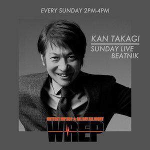 SUNDAY LIVE BEATNIK 2017.07.09 KAN TAKAGI GUEST SEIKO ITO