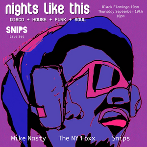 "Live @ ""Nights Like This"" Black Flamingo Brooklyn 9/19/19"
