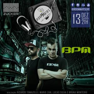 ROOM MATES LIVE - 13.12.2016 - PROJETO BPM (PAULINHO SQUILACI + MARCEL OLIVEIRA)