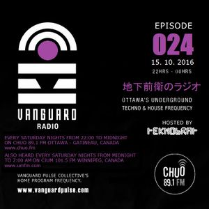 VANGUARD RADIO Episode 024 with TEKNOBRAT - 2016-10-15th CHUO 89.1 FM Ottawa, CANADA
