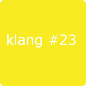 klang#23