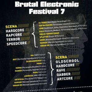 Verma @ Brutal Electronic Festival 7 Warsaw - 23062012