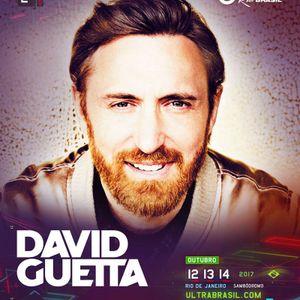 David Guetta @ Ultra Music Festival Brazil 2017