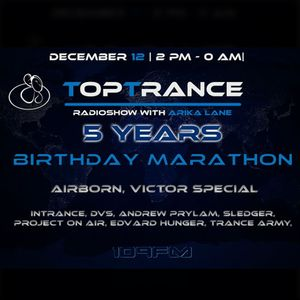 Sledger -  Anniversary Guest Mix for '5 years of Top Trance' marathon @109FM.net