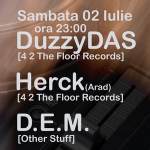 Herck - Live @ Downtown (02 07 2011) Part 1