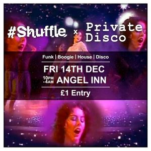 Duke b2b Guppy Slim (The Slim Duke) at Shuffle x Private Disco 14/12/12