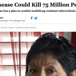 Tuberculosis Could Kill 75 Million People By 2050!