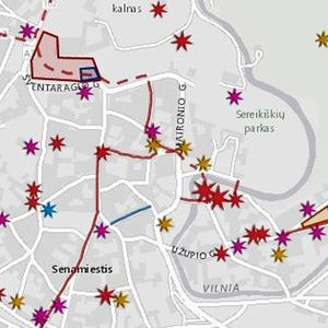 Inga Vidugiryte. Vilnius: vaizduotės žemėlapiai, tekstų teritorijos