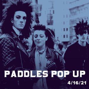 Paddles Pop-Up - 80s Music 4/16/21