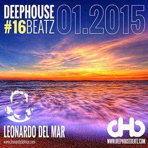 DeepHouseBeatz Volume 16 - 01.2015 by Leonardo del Mar