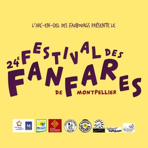 24ème Festival des Fanfares de Montpellier