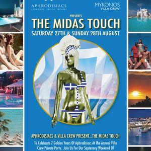 Aphrodisiac`s & Villa crew the Midas touch part 2