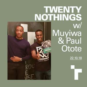 Twenty Nothings with Muyiwa Adigun- 22 October 2018
