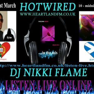 HOWIRED with Nikki Flame & Dj Ian Barbosa (Portugal) EXCLUSIVE 21st Feb 2012