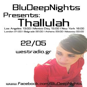 BluDeepNights on Westradio Vol.59 Aleksandar Savkovic and Thallulah