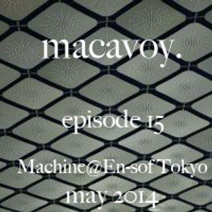Live at MACHINE@En-sof Tokyo