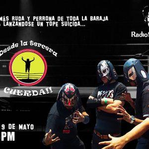 Desde la tercera cuerda programa transmitido el día 9 de Mayo 2013 por Radio Faro 90.1 fm