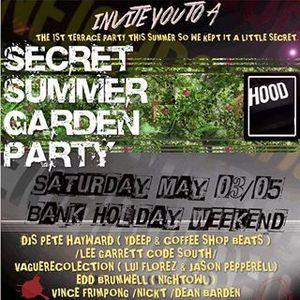 Secret Summer Garden Party mixtape